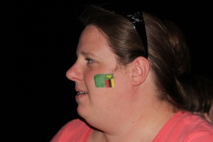 10-26-14 Kim's cheek flag