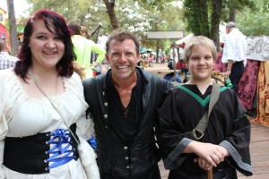 Lu & Jib with Tartanic drummer