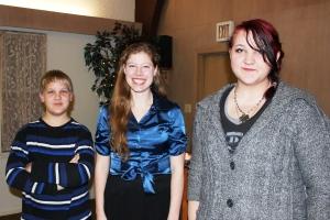 12-11-14 kids with Liz