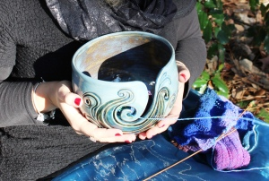 Lina's yarn bowl