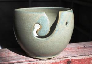 yarn bowl front