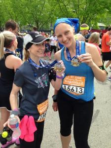 4-25-15 Mary after half marathon