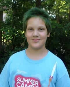 6-26-15 green hair