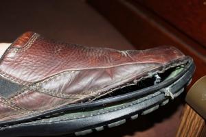 1-25-16 broken shoe