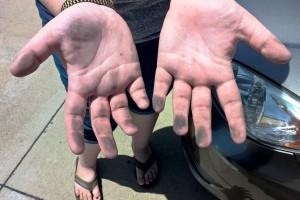 4-27-16 Lucy's hands