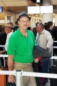 3-6-18 Walter at airport