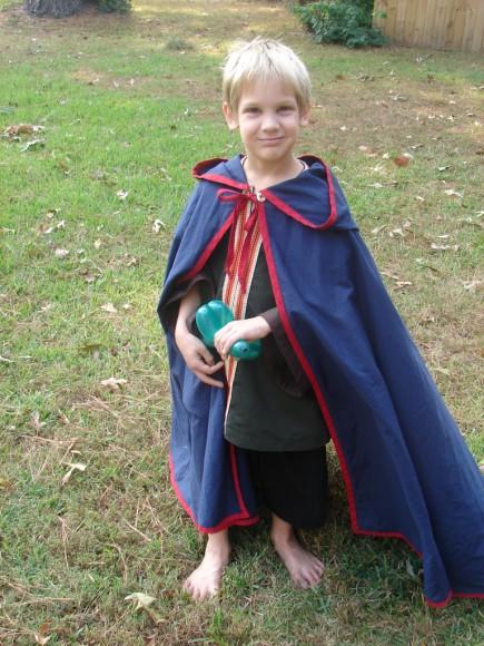 Jasper's cloak