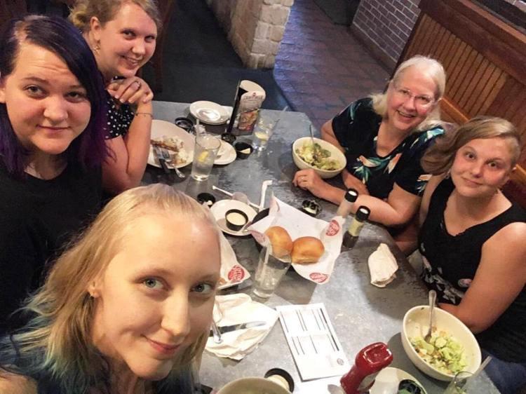 8-25-18 girls' lunch